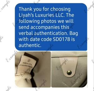 Liyah's Luxuries Louis Vuitton Verbal Authentication