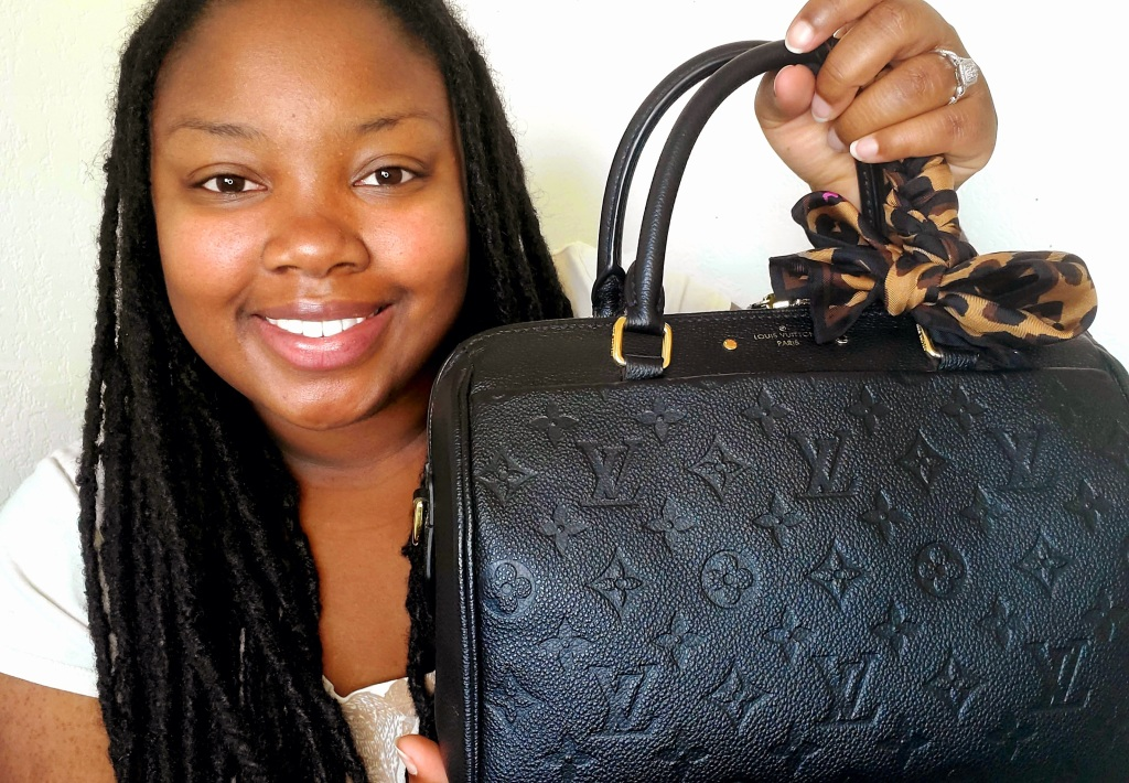 Liyah, the founder of Liyah's Luxuries Louis Vuitton Authentication Service